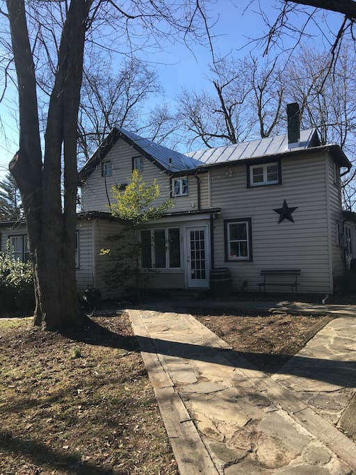 House sits central off of route 50, close to 66