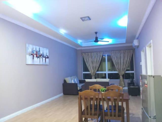 Kota Kinabalu 1Borneo SR Homestay (2Bedroom Condo)
