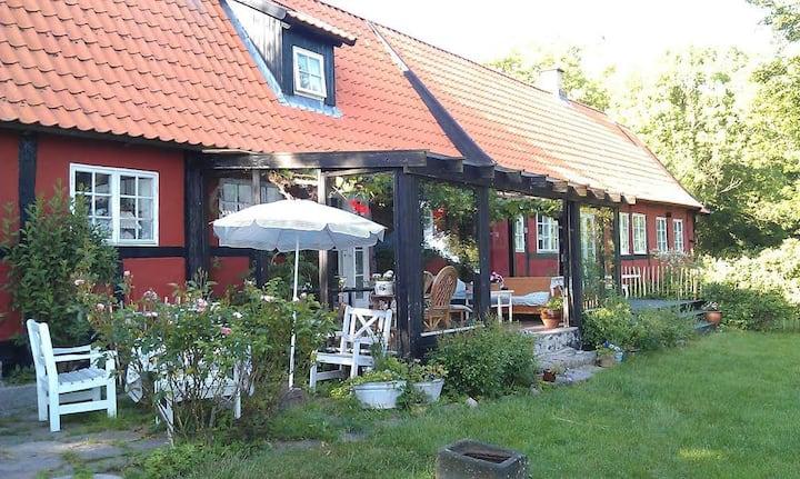 Kroggård nær Nexø. Holliday apartment på 60 m2