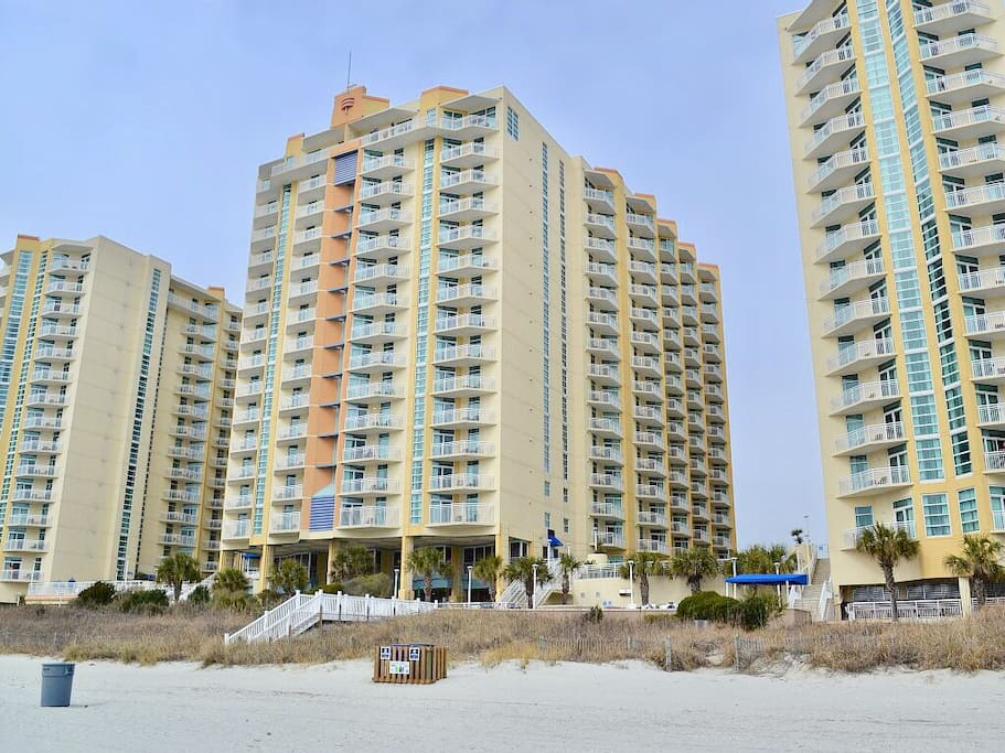 Wyndham Ocean Blvd 2 Bedroom Dlx Oceanfront Resort Resorts For Rent In North Myrtle Beach