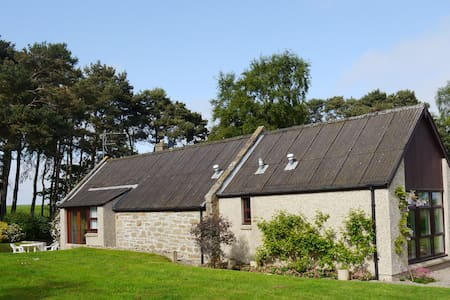 Winnow Cottage in a tranquil setting - Roseisle - Hus