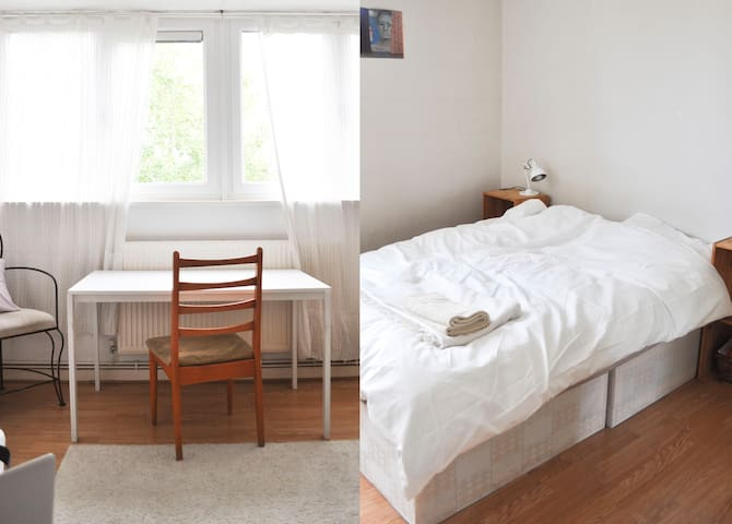 Homely East London two bedroom apartment
