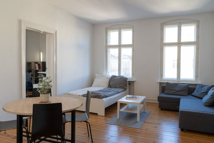 Spacious &  Bright Apartment in Bergmannkiez