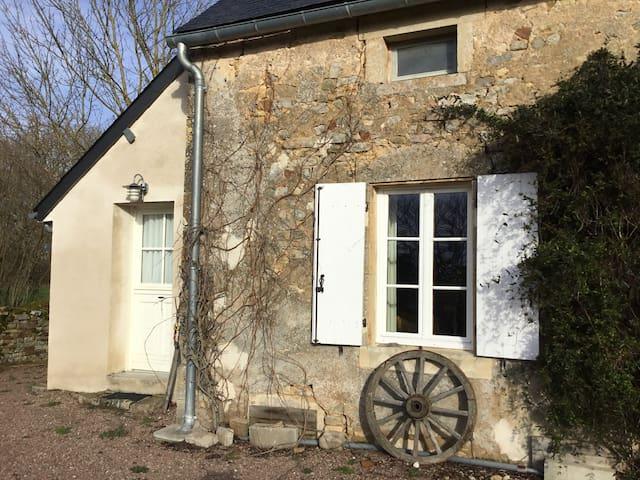 "Bourgogne, Huis Angelina op ""Domaine Vivre""."