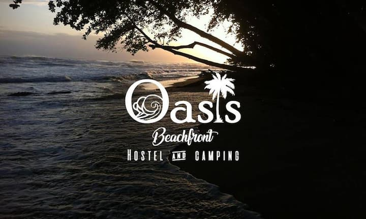 Oasis beachfront hostel- private rooms