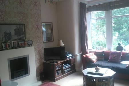 Spacious Edwardian house in beautiful Saltaire - Shipley - Hus