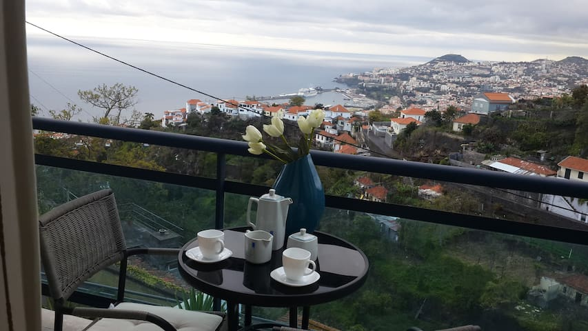 Apartment with beautiful views over Funchal & sea - São Gonçalo - 公寓