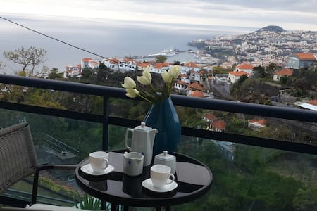Apartment with beautiful views over Funchal & sea - São Gonçalo
