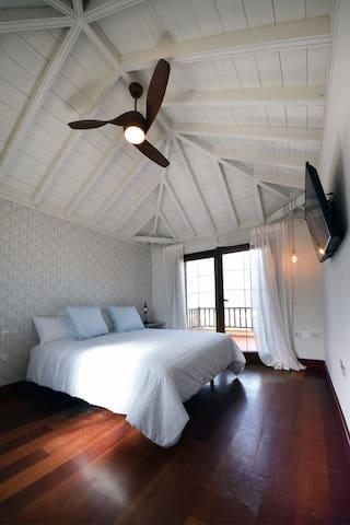Magnifica habitación 4 en Boardilla con solárium