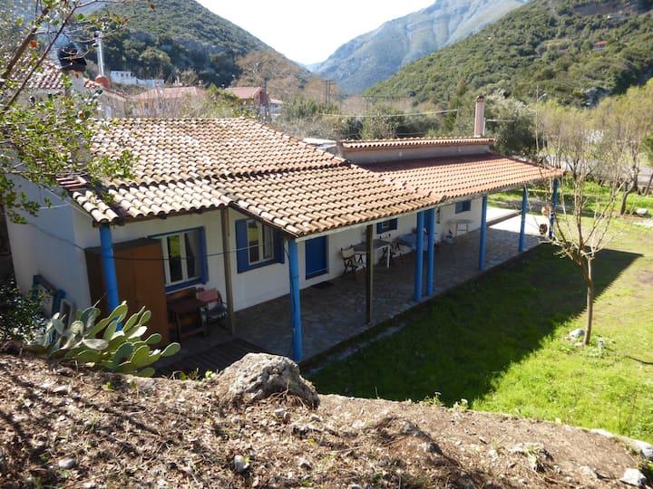 Eco sea front cottage-Evia island-Pure relax