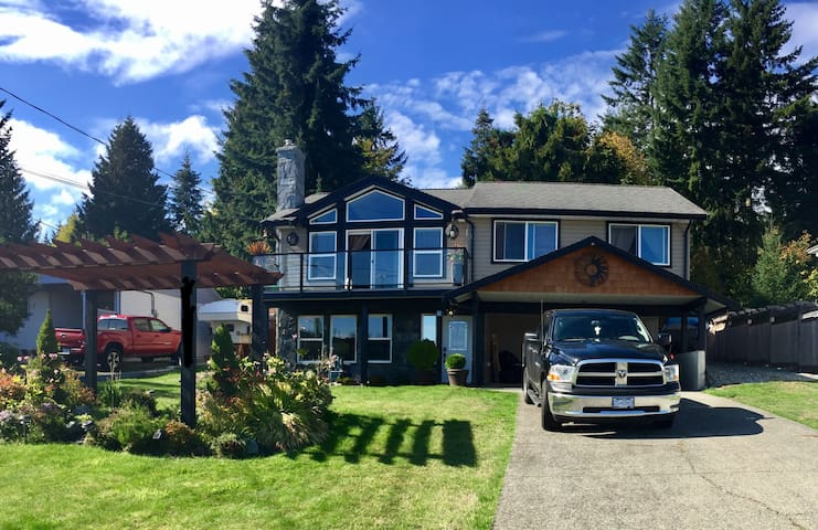Wonderful Oceanview Getaway - Chemainus - Talo