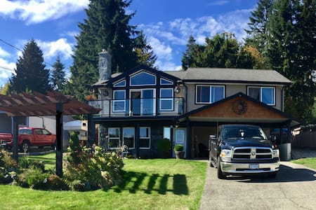 Wonderful Oceanview Getaway - Chemainus - Casa