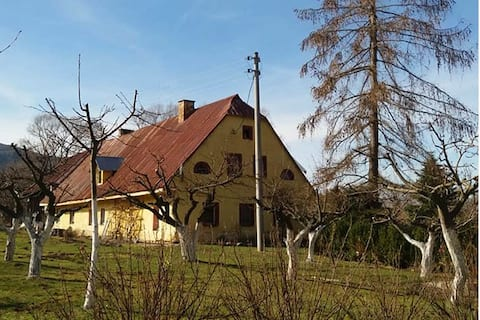"Agroturismo ""Zacisze"", Stara Lomnica, sala para 4 pessoas"