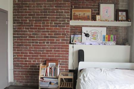 Sunny Modern Loft Studio in the Heart of SF - San Francisco - Apartment