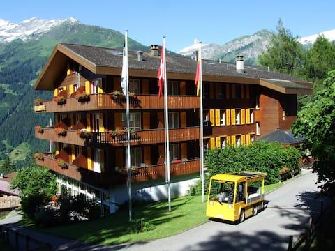 Für 1 Pers. Budget Zimmer Hotel Bellevue Wengen