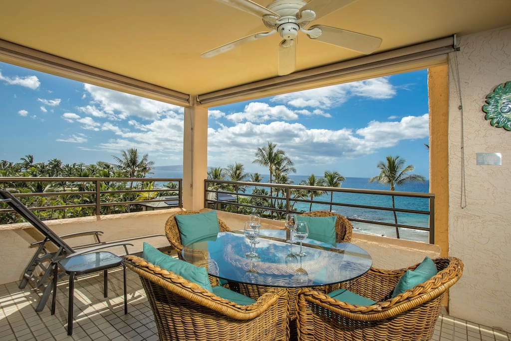 Located on the South Side of the building with a covered lanai!