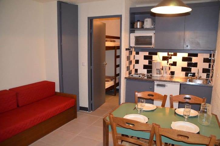 3 pers apartment in Les Menuires - access to Les 3 Vallées
