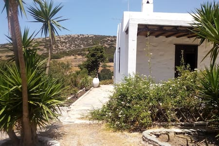 Traditional, stone-built cottage in Syros