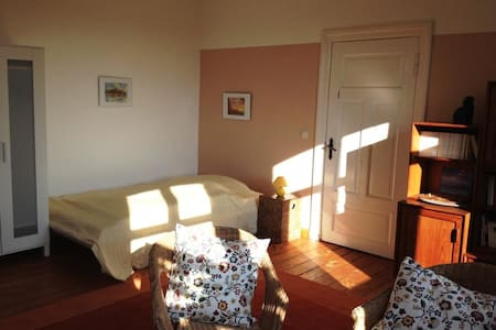 Room with a sunny southview - Giesensdorf - Casa
