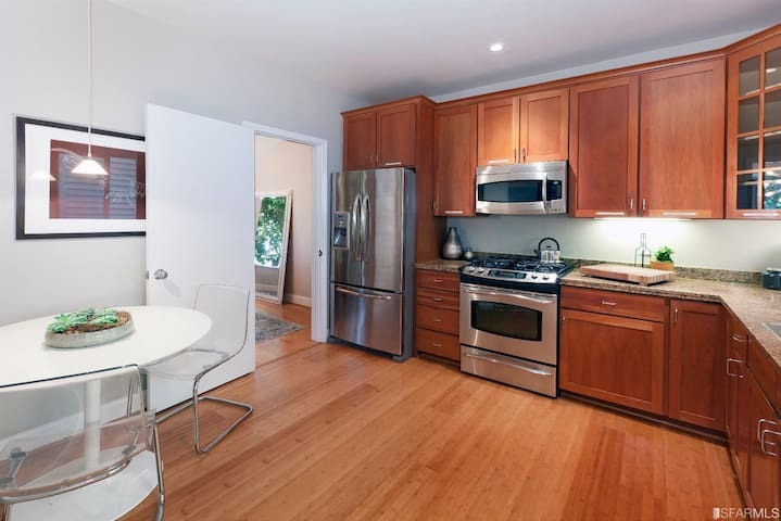 Private Room in Beautiful Apartment - San Francisco - Appartement