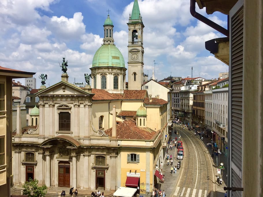 View from the Living room | Vista dal Salone