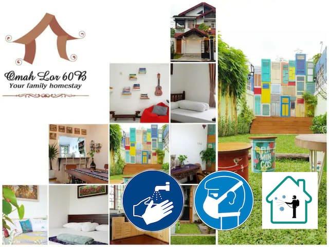 OmahLor60B Family Homestay Yogyakarta