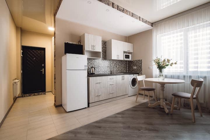 Beige Lustdorf Apartment