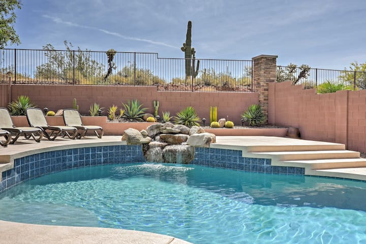 N. Phoenix Home w/ Pool, 13 Mi to Lake Pleasant!
