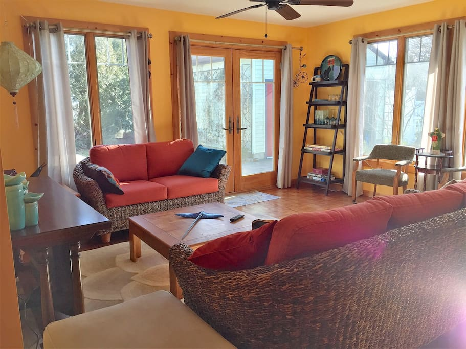 Enjoy your morning coffee in this sunny Living Area