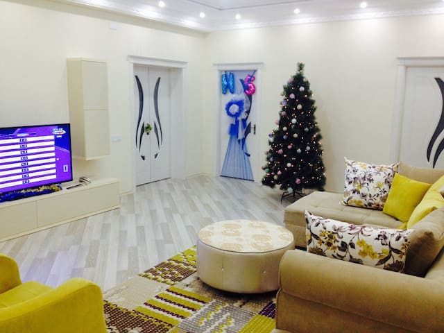 Cozy room and living area - Baku - Apartament