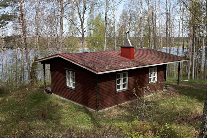 Spacious cabin in the forest near sea - Raseborg - Cabana