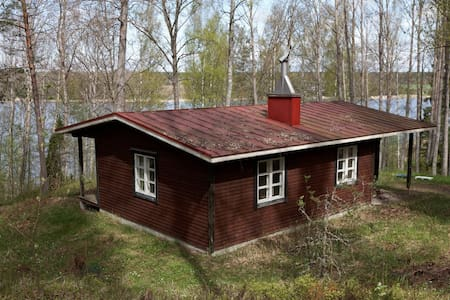 Spacious cabin in the forest near sea - Raseborg