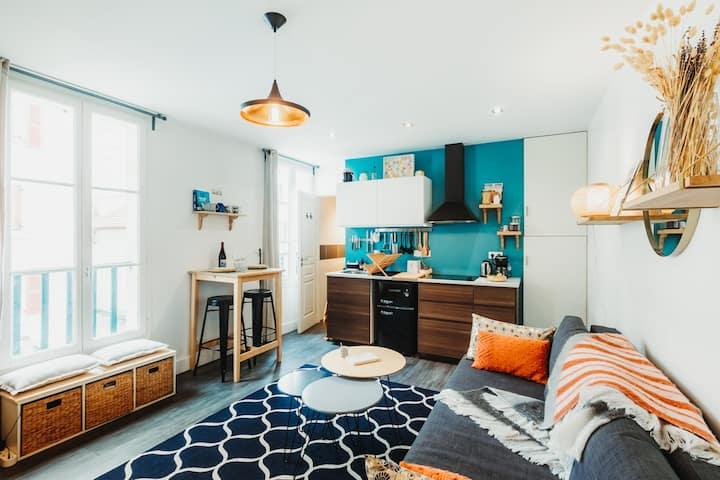 Cozy little apartment, La Grande Plage