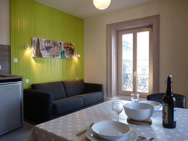 T2 40m2 hyper-centre proche commerces et thermes - Aix-les-Bains - Apartament