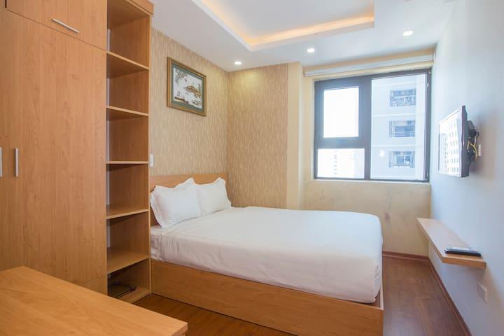 Phòng ngủ nhìn ra biển