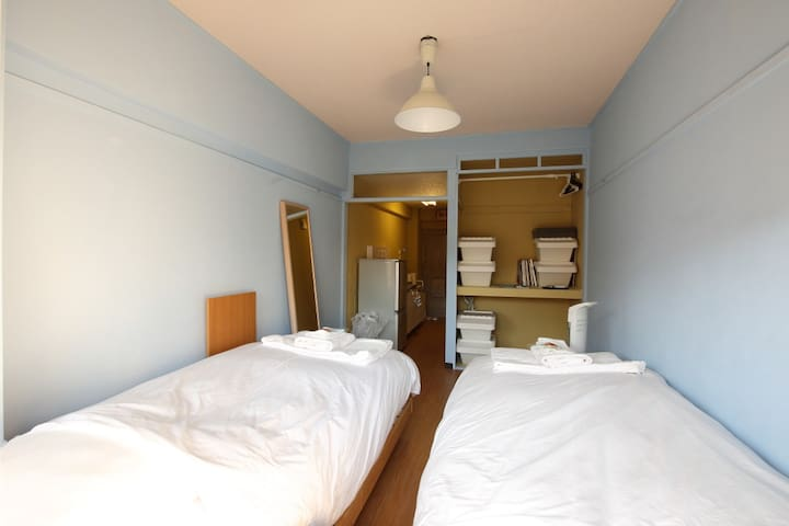 ★May/June sale★Near Shibuya!Free WIFI!Good beds! - Meguro-ku