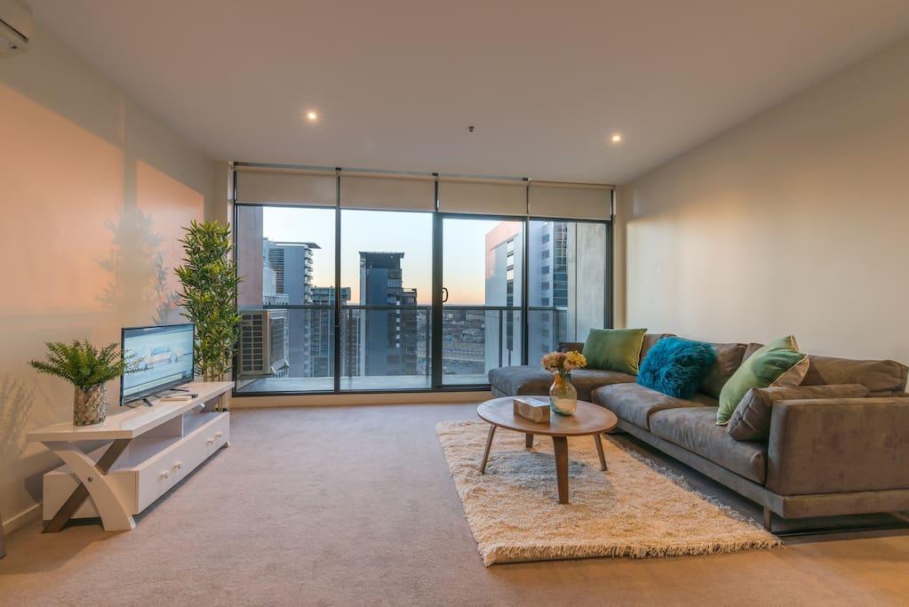Flagstaff garden large 2 bedroom modern apartment - 2 bedroom apartments melbourne for rent ...
