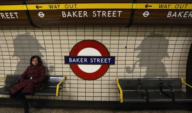 1 bedroom apartment at Baker street!CITY CENTER!