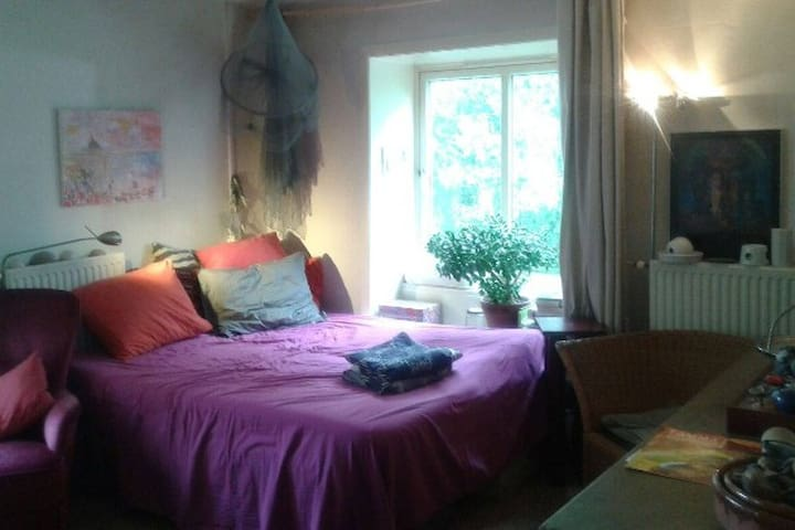 Colorful Room with Canal View - Amsterdam - Daire