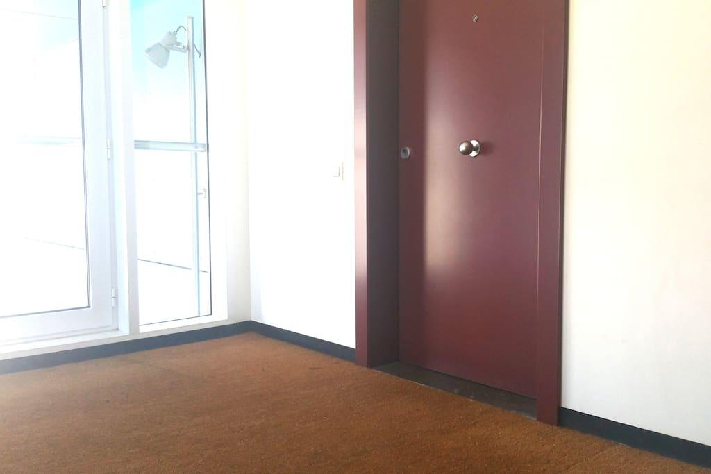 Puerta Entrada (Sin vecinos). 280 grados de vista piso alto.