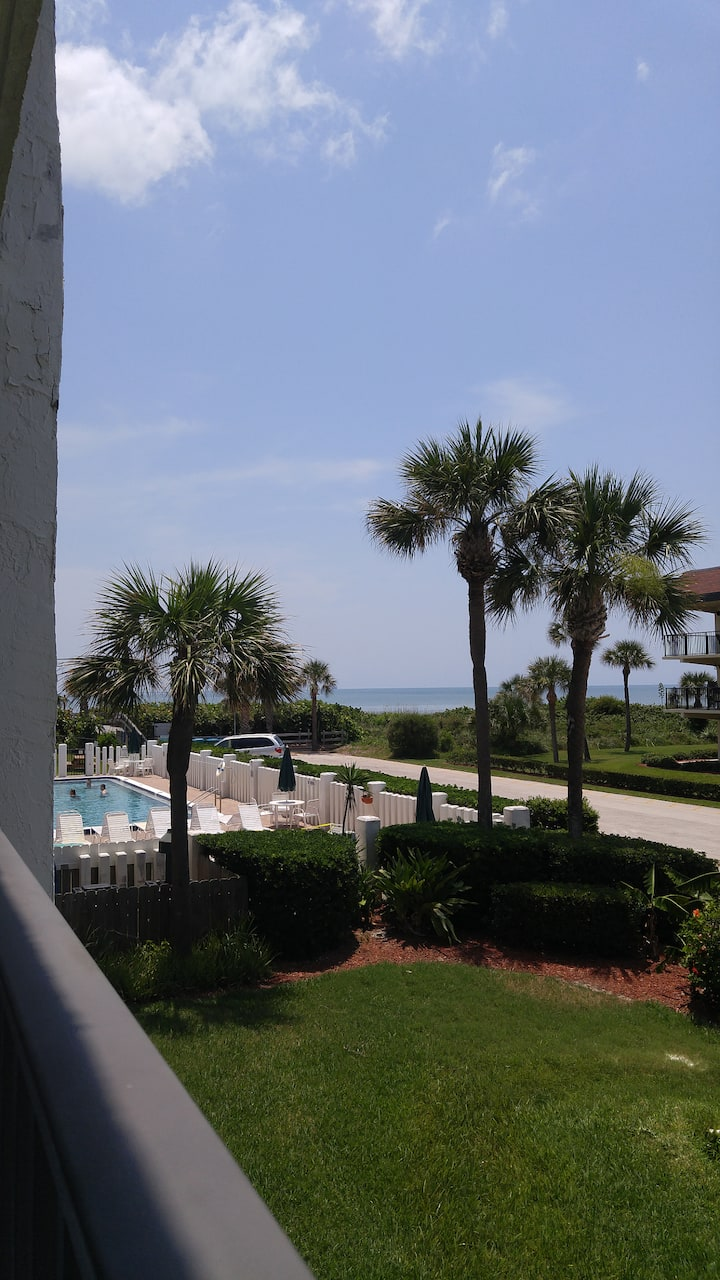 Beach Front Condo Cape Winds Resort Unit 214
