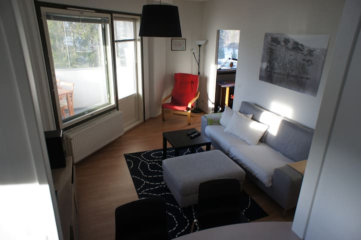 Cozy 2 room apartment, groceries and TUT near - Tampere - Departamento