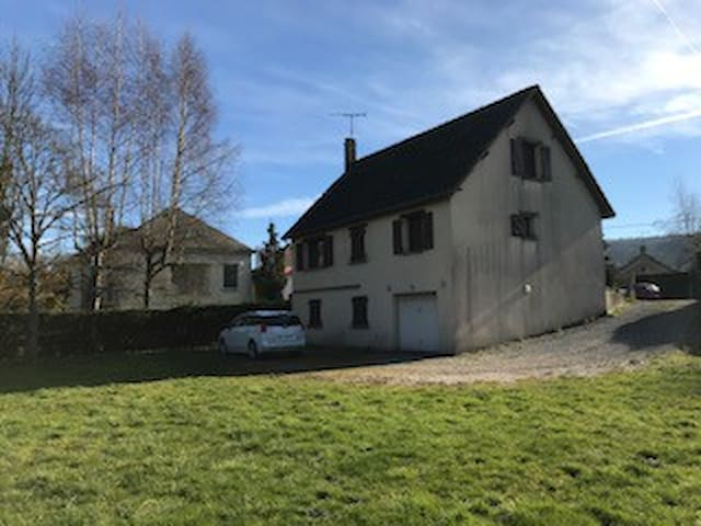Maison des taupes.