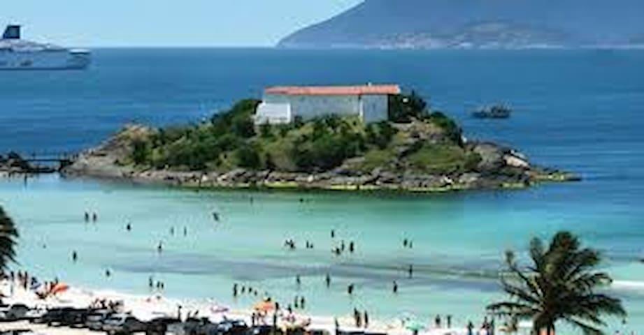 Casa Rosa aconchegante em Cabo Frio