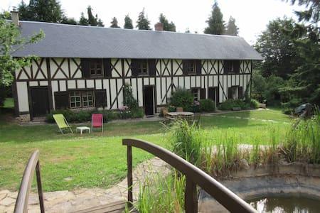 loue maison familiale normande - Heugon