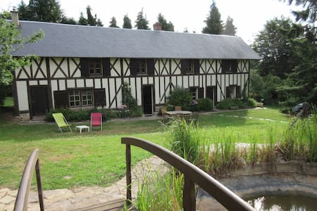 loue maison familiale normande - Heugon - House