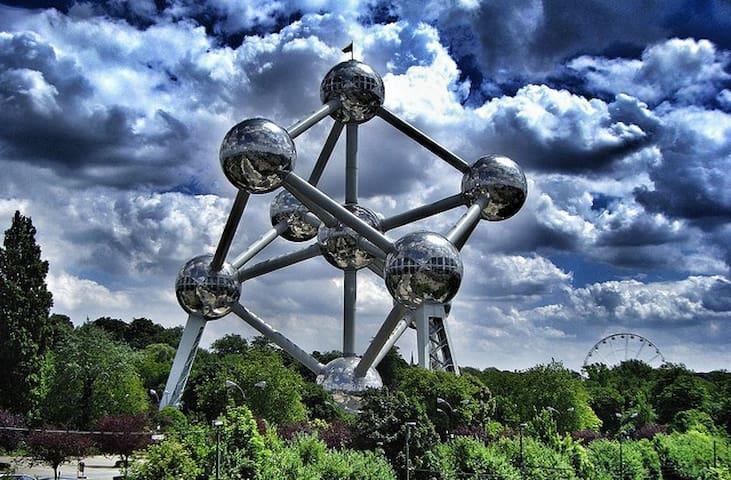 Au coeur de Brussels Expo-Atomium