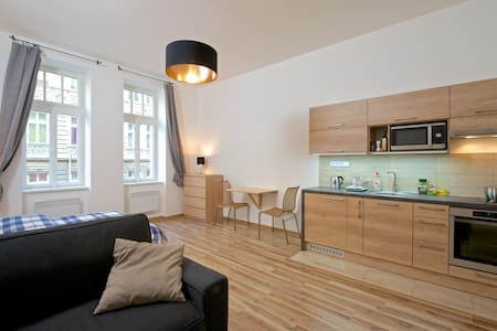 New Cozy Studio 10min from Old Town - Prague - Apartment - 1