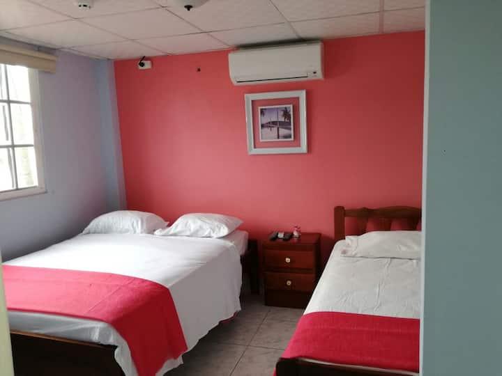 Comodas habitaciones en el Centro de Chitre