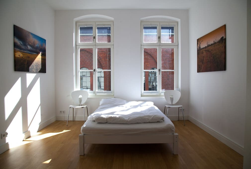Your Bedroom facing atelier of Olafur Eliasson